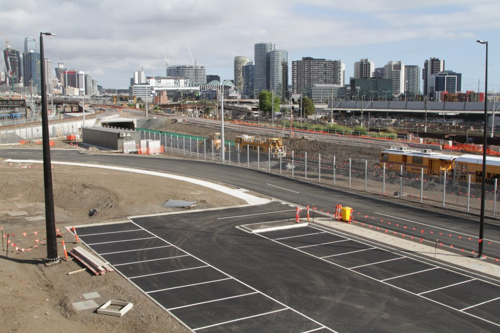 Rail Geelong Gallery New Car Park In Place At The