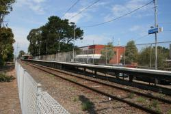 Altona station platform from the north