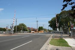 Grieve Parade level crossing