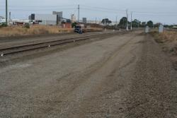 Trackbed cleared for new sidings