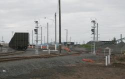 New down signals from the yard