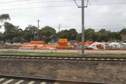 Aircraft Road level crossing removal project