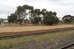 Aviation Road level crossing removal project: Landscaping works at the north-east end