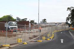 Cherry Street level crossing removal project: Southern approach embankment still to be completed