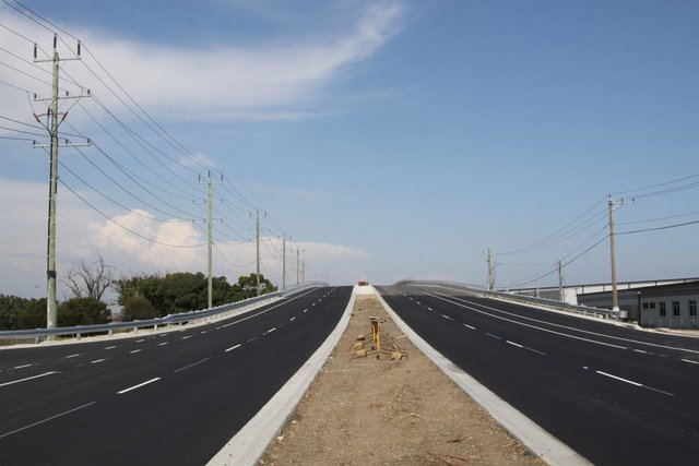 Opened to road traffic on December 22