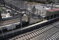 Laverton Rail Upgrade project: Fence along platform 1 removed because it was out of gauge