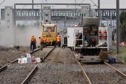 Laverton Rail Upgrade project: Rail welding all done