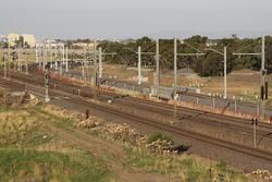New track in place at Laverton Junction but not in use