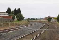 New and existing tracks at the down end of Furner Avenue