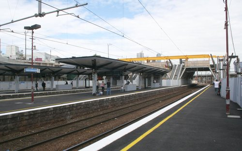 New passenger shelters in place
