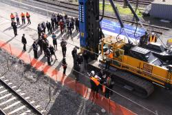 Regional Rail Link - turning of the first sod