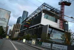 Collins Street frontage taking shape