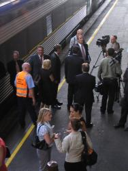 Geelong line VLocity launch: More media interviews