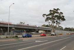 Werribee Street level crossing removal project: All three single track bridges in place