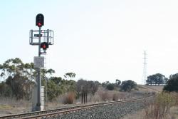 Up end signal for Gheringhap