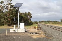 Solar powered 'VaMoS' crossing system on trial