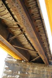Underside of the O'Connor Road underbridge