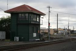 North Geelong 'C' signal box