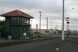 North Geelong 'C' box and signal