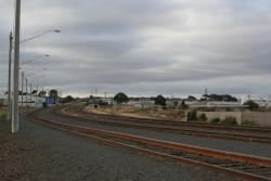 Looking down the line from North Geelong 'C'