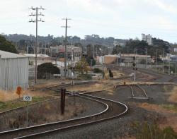 Down end of North Geelong Yard