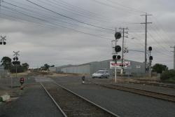 Down end of North Geelong Yard at Thompson Road