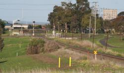Up arrival signal into North Geelong C
