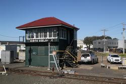 North Geelong C: Signal box still in use for now