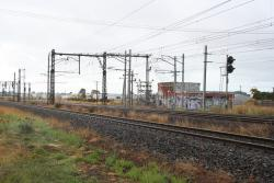Altona Junction: Looking towards Melbourne