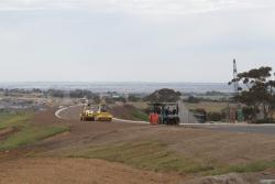 Baanip Boulevard under construction, to link the Geelong Ring Road and the Surf Coast Highway