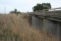 Old and new Princes Highway overpasses