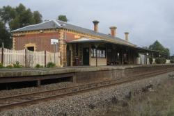 Birregurra station building