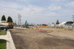 Work on the intersection of Breakwater Road and Fellmongers Road
