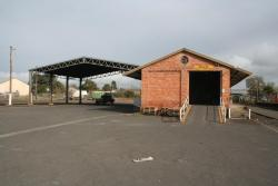 Goods shed and former freight terminal