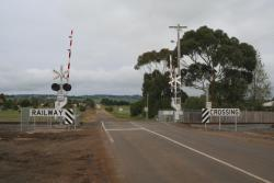 Level crossing at Cants Road