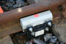 Axle detector for the signalling?
