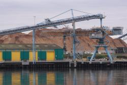 New woodchip loader constructed at Corio Quay North