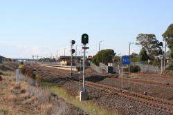 Overview of Corio station from the south