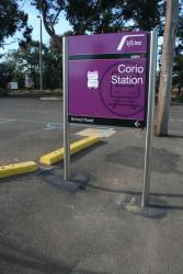 New Viclink signage