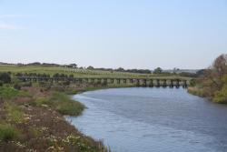 Bridge over the Merri River for the line towards Port Fairy