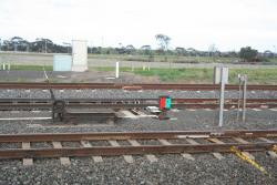 Equipment at the mainline points