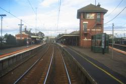 Footscray: Geelong line platforms