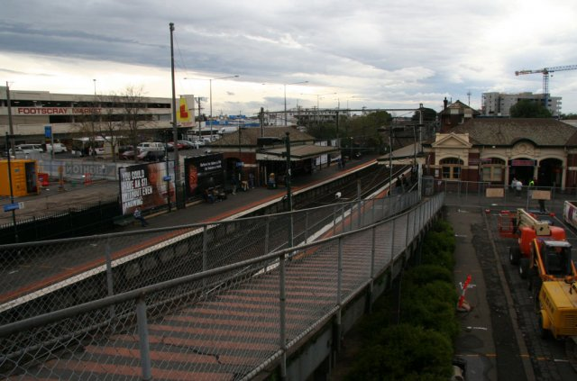 Ramp down to platform 2, closed to public access, soon to be removed