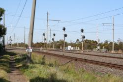 Signals for up trains