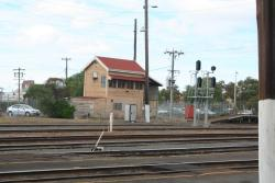 Former Geelong 'C' signal box