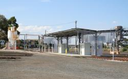 Railcar fuel point completed