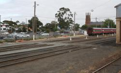 Geelong Carriage Yard: Down end of the yard