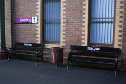 Viclink signage and repainted seats