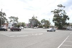 Cars parked in the western car park