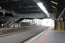 Original footbridge to platforms 2 and 3